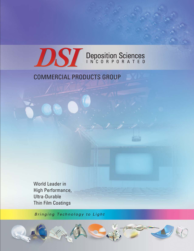 DSI Optical Thin Film Coatings for Commercial Optics Brochure