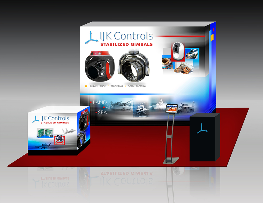 IJK Controls Showcases Stabilized Gimbals for Land, Sea, and Air