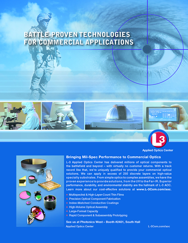 L3 Ad Helps Transition Military Capabilities to Commercial Optics Sector
