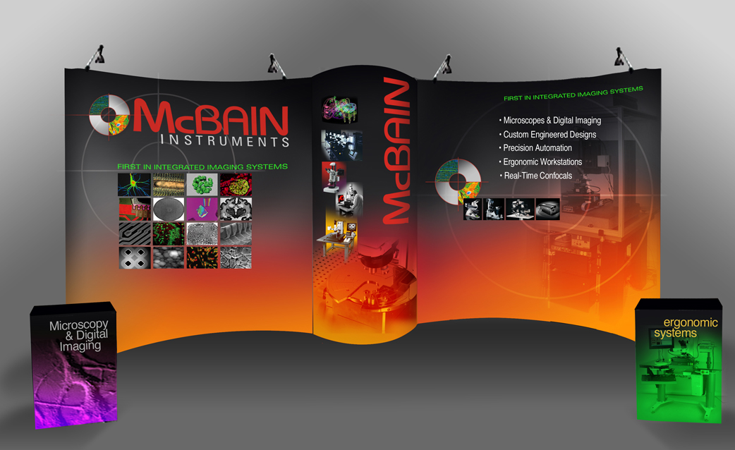 McBain Instruments Describes Integrated Imaging System Capabilities in Trade Show Booth