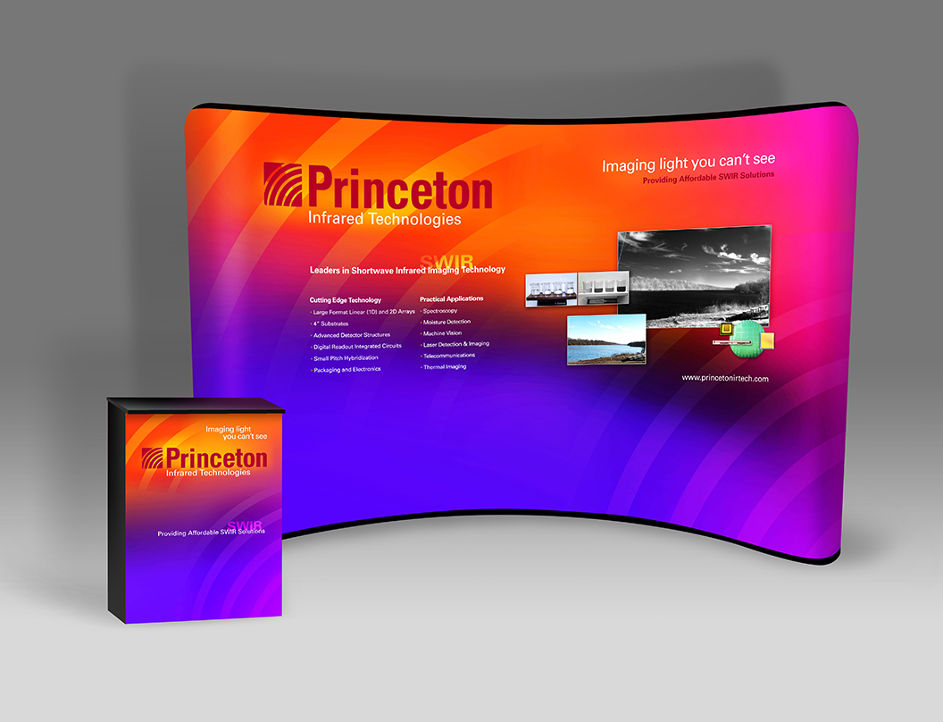 Princeton Infrared 10' Booth Features Affordable SWIR Cameras and Arrays